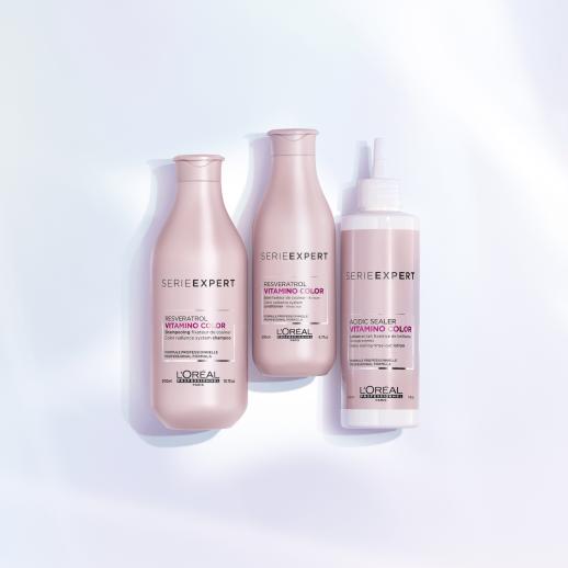 Sampon profesional pentru mentinerea culorii si stralucirii L'Oréal Professionnel Serie Expert Vitamino Color Resveratrol, 300ml
