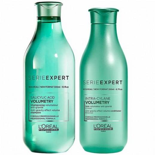 Pachet Special L'Oréal Professionnel Serie Expert Volumetry, Sampon + Tratament